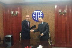 LIIA signed a MoU with Shanghai Institute of European Studies and Ningbo Maritime Silk Road Institute